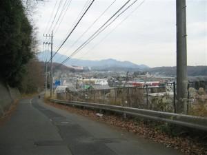 旧道からの風景