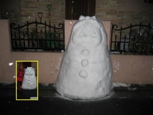 雪だるま@自宅