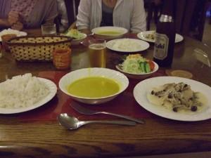 夕食 その1