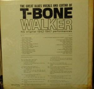 T-BONE WALKER - モダンブルースの父