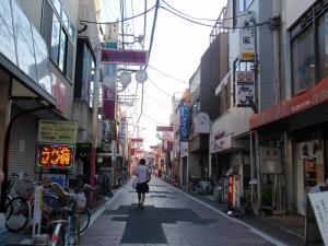 清瀬南口商店街、とかつては呼ばれておりました