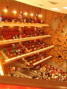 コンサートホールだっ!
